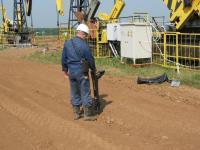 Определение местозалегания трубопровода трассоискателем